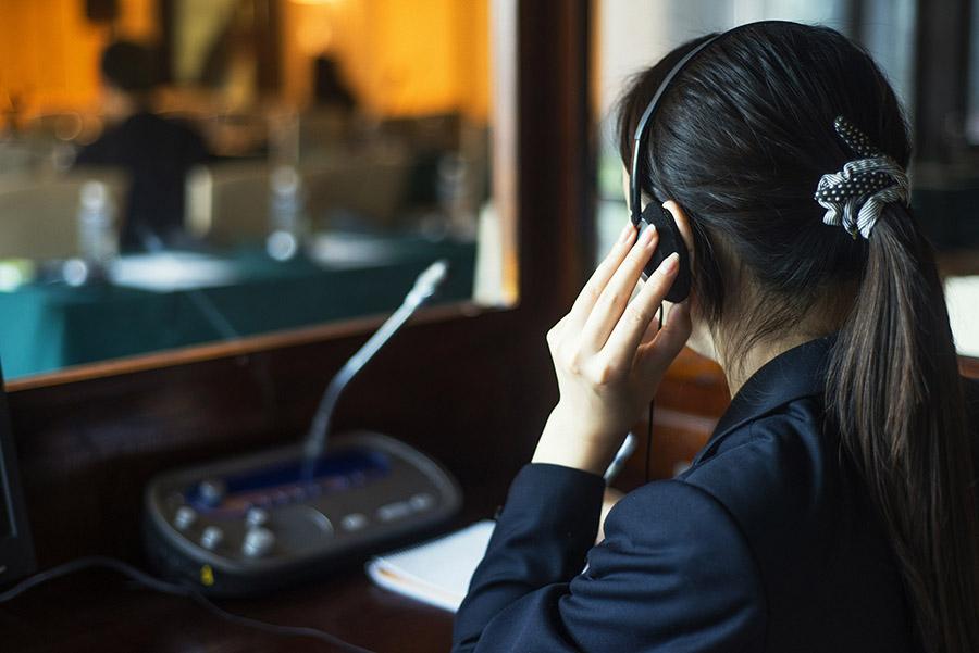 Distance or Remote Interpreting, Sound for interpreters